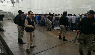 Megaoperativo en penal de Chachapoyas permitió decomisar armas y droga