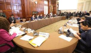Comisión de Constitución aprobó predictamen para retorno de la bicameralidad
