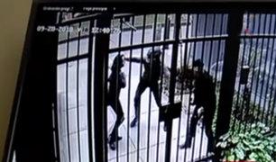 Pueblo Libre: cámaras de seguridad captan violento asalto