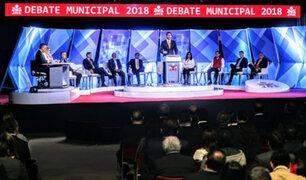 Esta noche se realiza segundo debate entre candidatos a la alcaldía de Lima