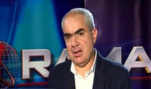 Manuel Velarde: estas elecciones son un referéndum contra la corrupción
