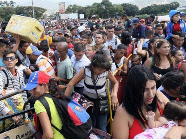 PJ admite demanda para ingreso de venezolanos al Perú sin pasaporte