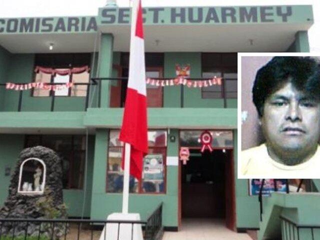 Candidato a regidor de Huarmey fue detenido por presuntamente golpear a su esposa