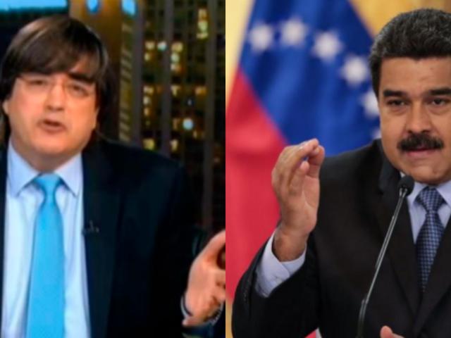 Venezuela: Maduro arremete contra Jaime Bayly en televisión abierta