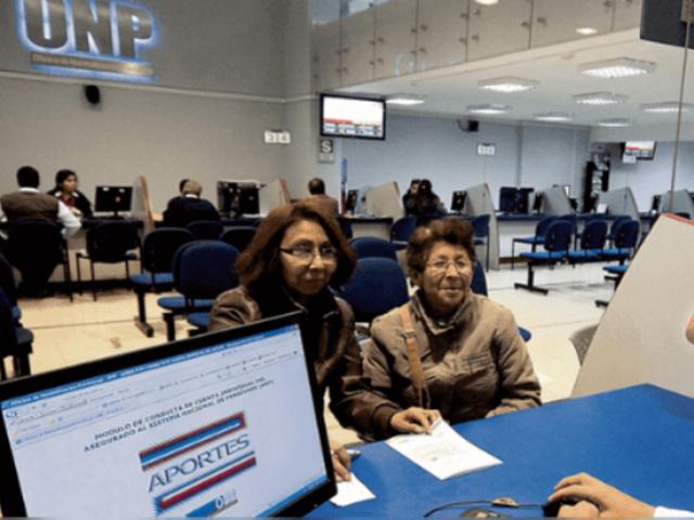 ONP pagará a trabajadores con 10 y 15 años de aportes podrán recibir pensión