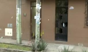 Comas: desconocidos detonan artefacto explosivo en frontis de vivienda