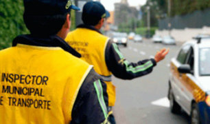 Separan a inspector de transporte tras incitar a violencia
