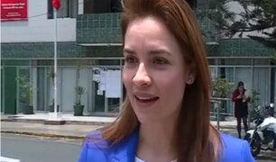 Periodista Marycarmen Sjoo fue denunciada por su acosador