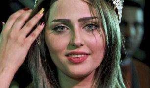 Miss Irak denunció amenazas de muerte tras el asesinato de una modelo
