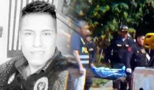 Tingo María: policía asesina a su expareja sentimental y luego se suicida