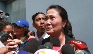 """Keiko Fujimori: """"Vamos a seguir dando batalla legal para recobrar la libertad de mi padre"""""""