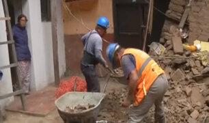 Rímac: vecinos están preocupados tras derrumbe de casona
