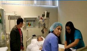 Alberto Fujimori: policía judicial resguarda clínica donde fue internado