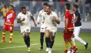 Torneo Clausura 2018: Universitario derrotó 1-0 a Sport Huancayo