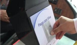 Servicio de transporte público podrá ser pagado con tarjeta desde noviembre
