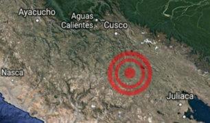 Cusco: seguidilla de sismos remecen la región en las últimas horas