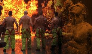 Rusia: estos bomberos no sólo apagan llamas, también encienden pasiones