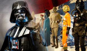 """EEUU: exhibición presenta los trajes originales de las películas de """"Star Wars"""""""