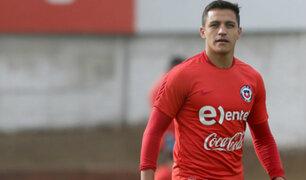 Alexis Sánchez no estará presente en amistoso con Perú