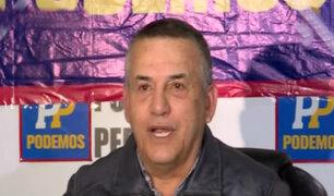 Daniel Urresti denuncia guerra sucia en su contra tras fallo que lo absolvió