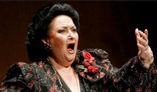 España: murió la soprano Montserrat Caballé a los 85 años