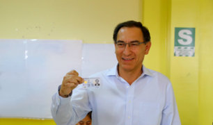 Presidente Vizcarra invoca a la población a emitir un Voto Responsable