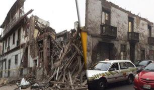¡Peligro constante!: cada semana colapsan viviendas antiguas en Lima Metropolitana y en el Callao