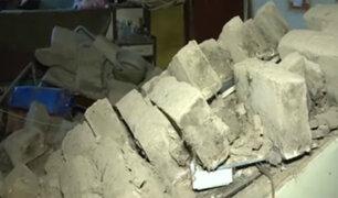 Cercado de Lima: casa de adobe colapsa y deja familia sin vivienda