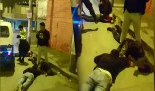 "Villa El Salvador: desarticulan peligrosa banda de ""raqueteros"""