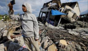 Video satelital muestra cómo la tierra se traga casas en Indonesia