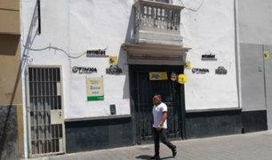 Delincuentes robaron S/2,000 de casa de apuestas en Trujillo