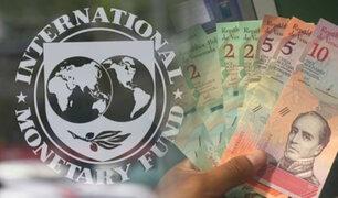 FMI pronostica una hiperinflación de 10 millones % para Venezuela en 2019