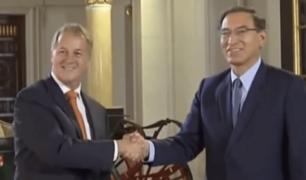 Así finalizó el encuentro entre el presidente Martín Vizcarra y el alcalde Muñoz