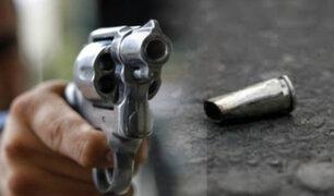 Hombre baleado en La Victoria tendría antecedente por robo agravado