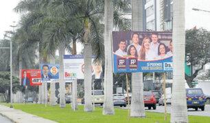 Candidatos deberán retirar propaganda electoral en un plazo de 60 días