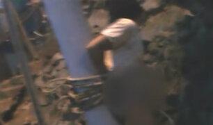 VMT: vecinos capturaron y lincharon a presunto delincuente