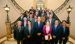 Presidente Vizcarra se reunió con bancada oficialista para discutir sobre bicameralidad