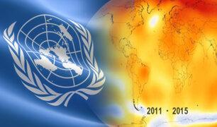 Alerta la ONU: el año 2030 es la fecha límite para salvar a la Tierra de una catástrofe global