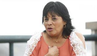 Esther Saavedra pidió disculpas a la población tras altercado con periodista