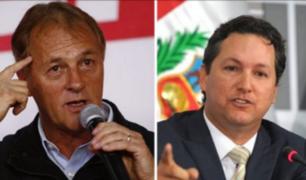 Jorge Muñoz se reunió con Daniel Salaverry en el Congreso