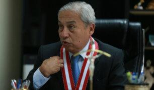 Colegiatura de Pedro Chavarry habría sido suspendida por cuatro meses por Consejo de Ética del CAL
