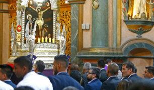 Alianza Lima se encomendó a la sagrada imagen del Señor de los Milagros