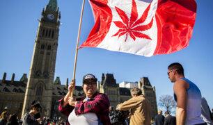 Canadá adopta medidas para legalizar la marihuana el 17 de octubre
