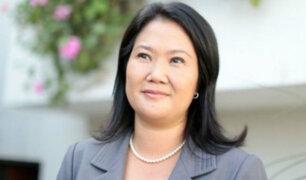 Keiko Fujimori pasó la noche en la prefectura