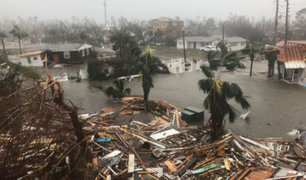 Se eleva a seis los fallecidos por el huracán Michael en EEUU