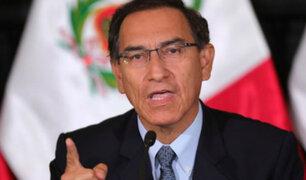 Presidente Vizcarra descartó que se esté planeando un golpe de Estado