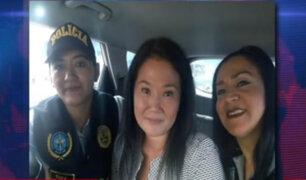'Selfie' de Keiko: Policía iniciará investigación para determinar veracidad de foto