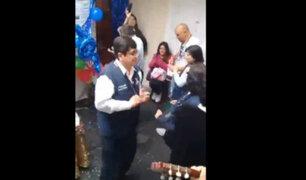 La Libertad: jefe de ODPE Trujillo celebró su cumpleaños al interior de un local institucional