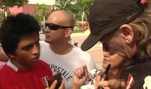 Desde Miami: Ricardo Gareca se da baño de popularidad