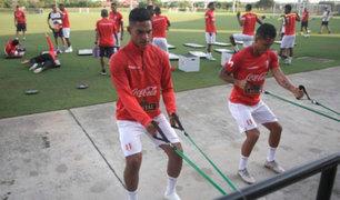 Perú vs. Chile: bicolor realizó último entrenamiento antes del partido
